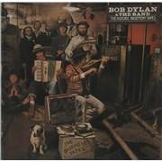 Bob Dylan The Basement Tapes - 1st - Stickered 2-LP vinyl set UNITED KINGDOM
