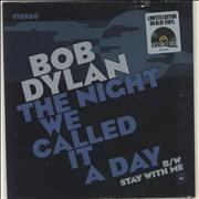 Bob Dylan The Night We Called It A Day - Blue 7