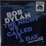 Bob Dylan The Night We Called It A Day - RSD15 - Blue Vinyl - Sealed 7