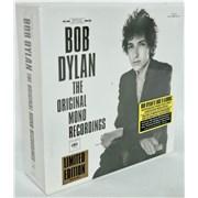 Bob Dylan The Original Mono Recordings - Sealed cd album box set UNITED KINGDOM