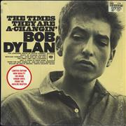 Bob Dylan The Times They Are A-Changin' - 180gm Vinyl + Shrinkwrap vinyl LP USA
