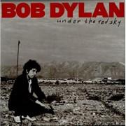Bob Dylan Under The Red Sky vinyl LP UNITED KINGDOM