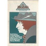 Bob Dylan Zig Zag #58 magazine UNITED KINGDOM