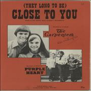 Carpenters (They Long To Be) Close To You sheet music UNITED KINGDOM