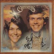 Carpenters A Kind Of Hush - EX vinyl LP UNITED KINGDOM