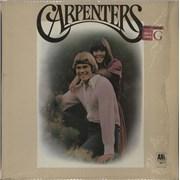 Carpenters Carpenters vinyl LP UNITED KINGDOM