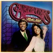 Carpenters Live At The Palladium vinyl LP UNITED KINGDOM