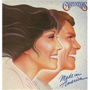Carpenters Made In America vinyl LP UNITED KINGDOM