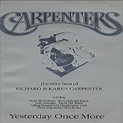Carpenters Yesterday Once More video UNITED KINGDOM