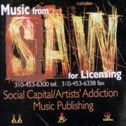 Charlie Clouser Music From The Saw Films CD-R acetate USA