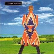David Bowie Earthling 2-CD album set UNITED KINGDOM