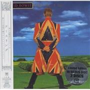 David Bowie Earthling 2-CD album set JAPAN