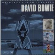 David Bowie Original Album Classics 3-CD set GERMANY