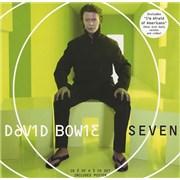 David Bowie Seven - CD2 + Poster CD single UNITED KINGDOM