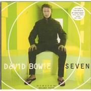 David Bowie Seven - CD2 CD single UNITED KINGDOM
