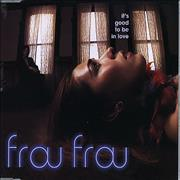 Frou Frou It's Good To Be In Love CD single EUROPE