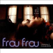 Frou Frou It's Good To Be In Love CD single UNITED KINGDOM