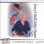Hall & Oates Instant Live - Live from The Celebrity Theatre Phoenix, AZ CD-R acetate USA