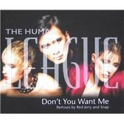 Human League Don't You Want Me Remixes CD single UNITED KINGDOM