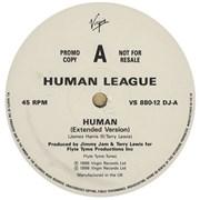 Human League Human 12