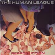 Human League Reproduction vinyl LP USA