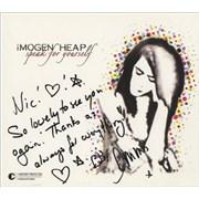 Imogen Heap Speak For Yourself - Autographed CD album USA