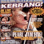 Kerrang! Magazine Kerrang! Magazine - Mar 95 magazine UNITED KINGDOM