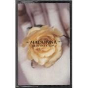 Madonna Bedtime Stories cassette single UNITED KINGDOM