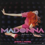 Madonna Confessions On A Dance Floor - German poster GERMANY