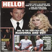 Madonna Hello! magazine UNITED KINGDOM