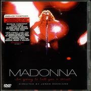 Madonna I'm Going To Tell You A Secret - DVD Case Edition 2-disc CD/DVD set UNITED KINGDOM