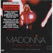 Madonna I'm Going To Tell You A Secret 2-disc CD/DVD set UNITED KINGDOM