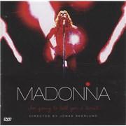 Madonna Im Going To Tell You A Secret 2-disc CD/DVD set ARGENTINA