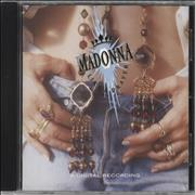 Madonna Like A Prayer CD album GERMANY