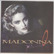 Madonna Live To Tell - Yellow Label & Matte Sleeve 7