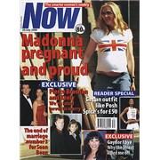 Madonna Now - July 2000 magazine UNITED KINGDOM