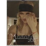 Madonna Official Calendar 2005 - Sealed calendar UNITED KINGDOM