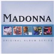 Madonna Original Album Series 5-CD set UNITED KINGDOM