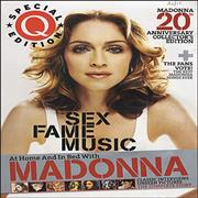 Madonna Q - Madonna 20th Anniversary Collector's Edition magazine UNITED KINGDOM