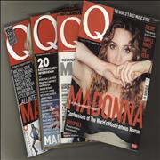 Madonna Q Magazine - Four issues magazine UNITED KINGDOM