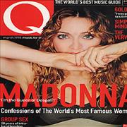 Madonna Q magazine UNITED KINGDOM