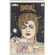 Madonna Rock 'N' Roll Comics magazine USA