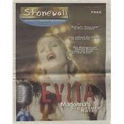 Madonna Stonewall magazine USA