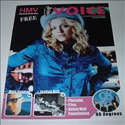 Madonna The Voice - HMV Magazine magazine SINGAPORE