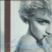 Madonna True Blue - Blue Injection Moulded & Card Sleeve 7