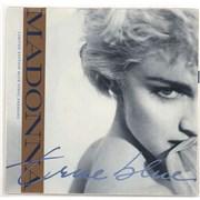Madonna True Blue - Blue Vinyl + Sleeve 7