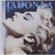 Madonna True Blue - Stickered - EX vinyl LP UNITED KINGDOM