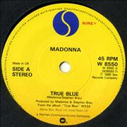 Madonna True Blue - Yellow Label 7