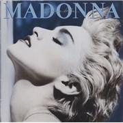 Madonna True Blue vinyl LP UNITED KINGDOM