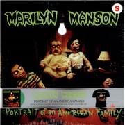 Marilyn Manson Portrait Of An American Family - Vinyl + T-Shirt Set vinyl LP USA